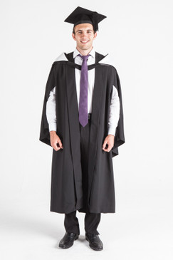 UQ Bachelor Graduation Gown Set - Front view