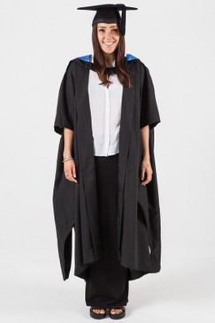UQ Masters Graduation Gown Set - Front view
