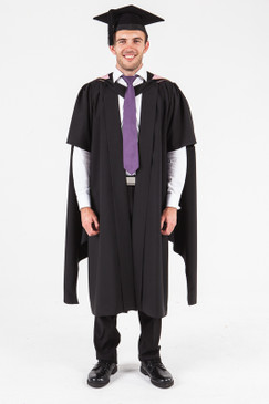 UON Masters Graduation Gown Set - Medicine and Health Sciences - Front view