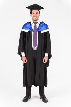 University of Western Australia Bachelor Graduation Gown Set - Arts - Front view