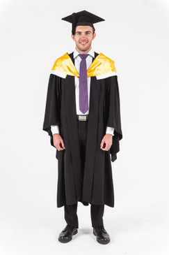 University of Western Australia Bachelor Graduation Gown Set - Engineering - Front view