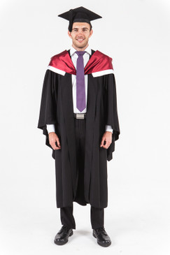 University of Western Australia Bachelor Graduation Gown Set - Medicine - Front view