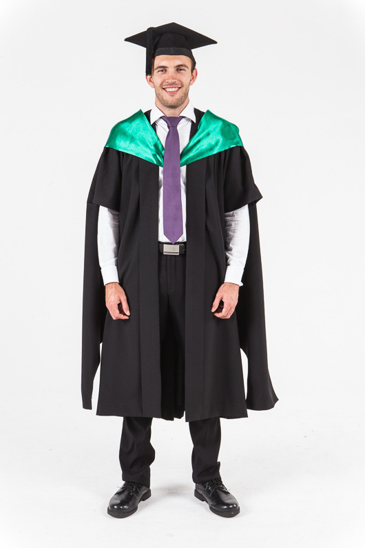 University of Western Australia Masters Graduation Gown Set ...