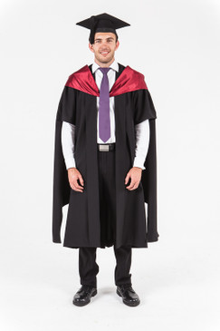 University of Western Australia Masters Graduation Gown Set - Medicine - Front view
