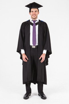 University of Adelaide Bachelor Graduation Gown Set - Business and Commerce - Front view