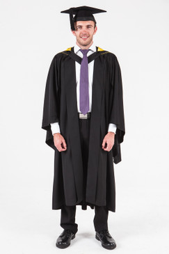 University of Adelaide Bachelor Graduation Gown Set - Natural and Physical Sciences - Front view