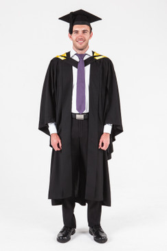 University of Adelaide Honours Graduation Gown Set - Natural and Physical Sciences - Front view