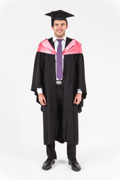 UniSA Bachelor Graduation Gown Set - Natural and Physical Sciences - Front view