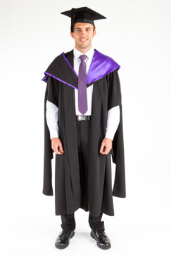 ACU Masters Graduation Gown Set - Theology and Philosophy - Front view