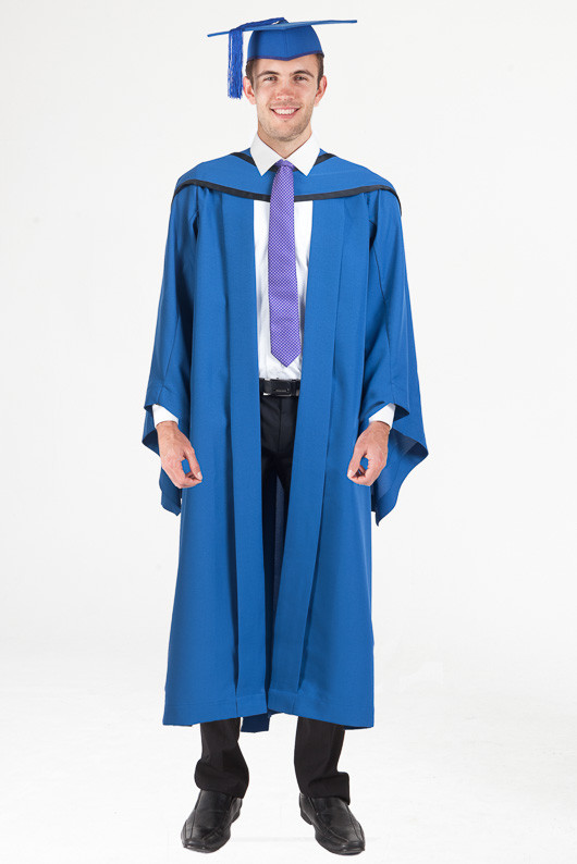 Honours Graduation Gown Set for UOW - Standard - Front view