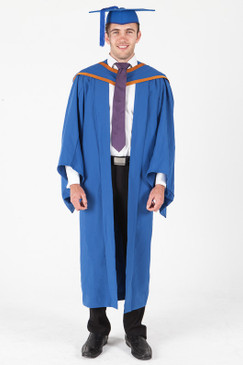 Masters Graduation Gown Set for UOW - Standard - Front view