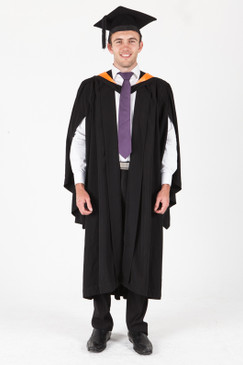 ANU Bachelor Graduation Gown Set - Asia and the Pacific - Front view