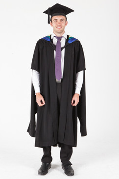 University of Sydney Masters Graduation Gown Set - Physiotherapy - Front view