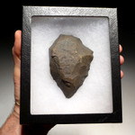 M360 - CHOICE MOUSTERIAN HANDAXE FROM NORTH AFRICA WITH SHARP TIP