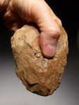 ACH230 - SUPERB PREHISTORIC ACHEULIAN CORDIFORM HANDAXE OF EXCEPTIONAL WORKMANSHIP MADE BY HOMO ERGASTER (ERECTUS)
