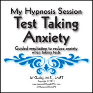 Test Taking Anxiety Hypnosis CD