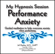 Performance Anxiety Hypnosis CD