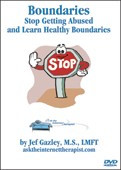 Boundaries: Stop Getting Abused and Learn Healthy Boundaries - Educational Video Tape (VHS)