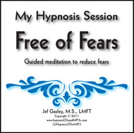 Free of Fear Hypnosis CD