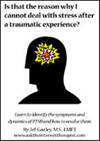 Is that the reason why I cannot deal with stress after a traumatic experience? (Book)