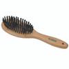 Safari Bristle Dog Brush with Bamboo Handle Small