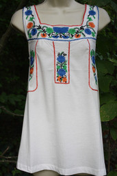 Mexican Market Cotton Knit Top