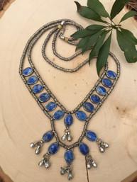 Magic River Lapis Necklace