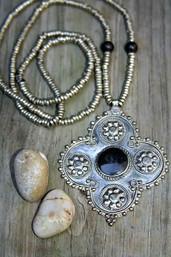Tribal Night Onyx Necklace