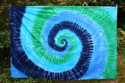 Crystal Water Tie Dye Tapestry