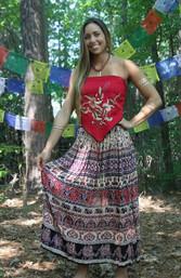 Woodstock Broomstick Skirt