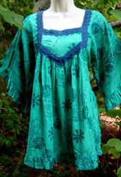 Fresh Rain Fair Trade Bohemian Blouse
