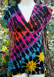Twilight Rainbow Tie Dye Top