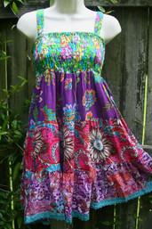 Fair Trade Patchwork Prairie Dress / Skirt - Assorted Prints
