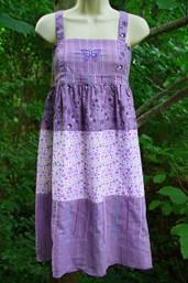 Butterfly Garden Fair Trade Apron Dress