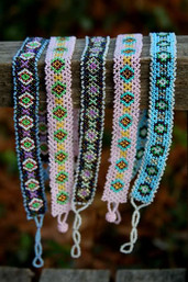 Fair Trade Wild Wisteria Wrap Bracelet