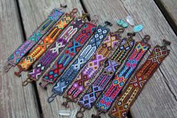 Bohemian Beaded Bliss Fair Trade Bracelet