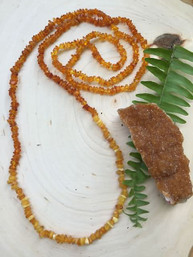 Amber Sunrise Natural Gemstone Necklace