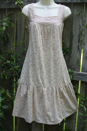 Good Karma Fair Trade Calico Dress - Sand