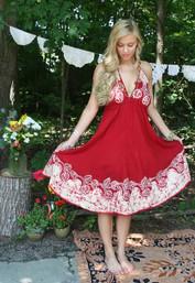 Gypsy Soul Backless Dress