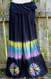 Mountain Goddess Fair Trade Tie Dye Pants II