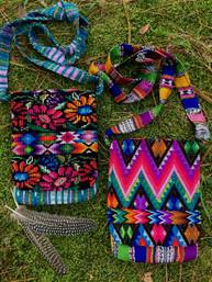 Bohemian Wanderer Recycled Fair Trade Guatemalan Bag