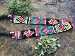 Navajo Summer Beaded Headband