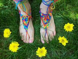 Nature Walk Fair Trade Barefoot Sandals II