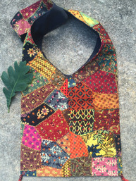 Wild Wilderness Fair Trade Patchwork Bag