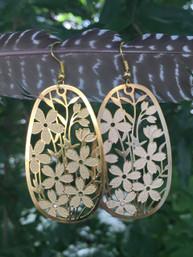 Boho Bouquet Feather-Weight Earrings