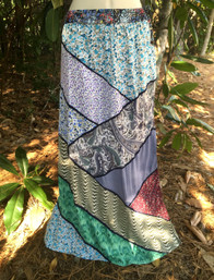 Magical Forest Fair Trade Patchwork Skirt