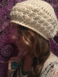 Bohemian Nights Handmade Crocheted Hat