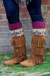 Mountain Magic Fair Trade Boot Cuffs