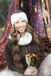 Mountain Magic Chunky Knit Cowl Scarf