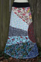 Sweet Sunshine Fair Trade Patchwork Skirt II